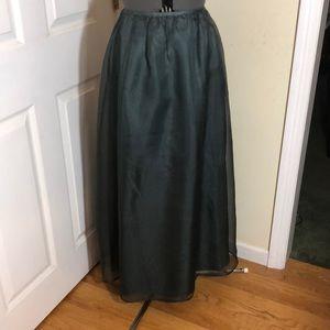 Sigrid Olsen Silk Organza Skirt